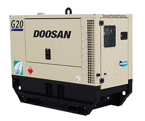 Generador G20 de Doosan Portable Power